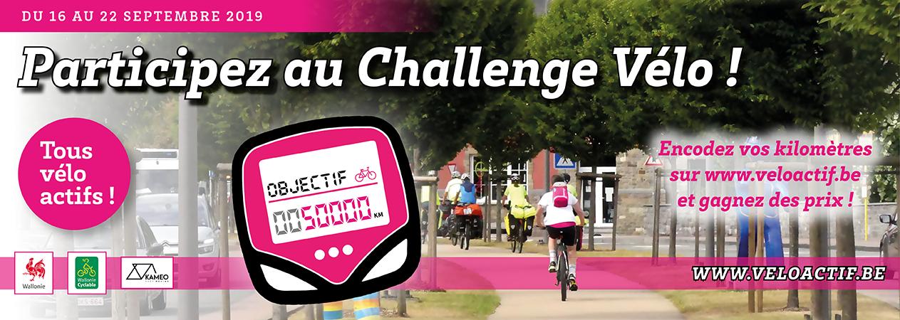 Banner challenge vélo tous velo actif 2019